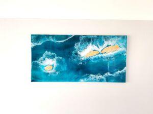 Debbie Neely Hilbre Island Artwork